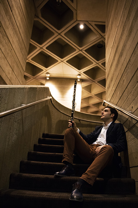 jordi juan perez clarinetista espanol en londres